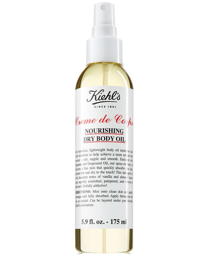 Kiehl's Since 1851 - Creme de Corps Nourishing Dry Body Oil, 5.9-oz.