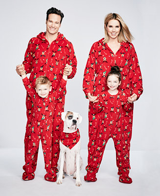 Family Pajamas Footed Reindeer Pajama Sets Created For