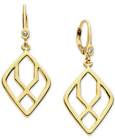 Ivanka Trump Open Drop Earrings
