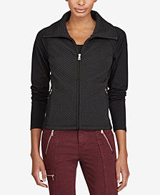 Lauren Ralph Lauren Funnel-Neck Jacket