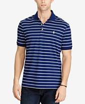 e134a9942d67 Polo Ralph Lauren Men s Classic-Fit Striped Soft-Touch Polo. Quickview. 6  colors