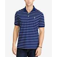 Deals on Polo Ralph Lauren Men's Classic-Fit Striped Soft-Touch Polo