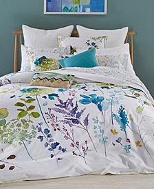 bluebellgray Botanical Garden Cotton 2-Pc. Twin/Twin XL Duvet Cover Set