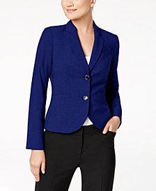 Calvin Klein Petite Two-Button Jacket