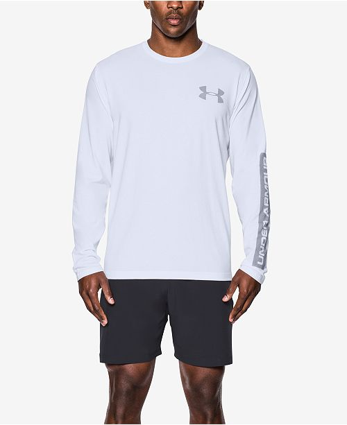 d4000286 ... T-Shirt; Under Armour Men's Charged Cotton® Long-Sleeve ...