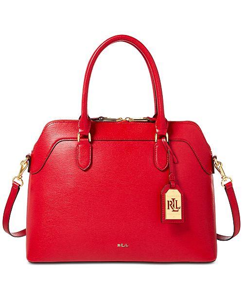 1e55f5a763c8 Lauren Ralph Lauren Nora Medium Satchel   Reviews - Handbags ...
