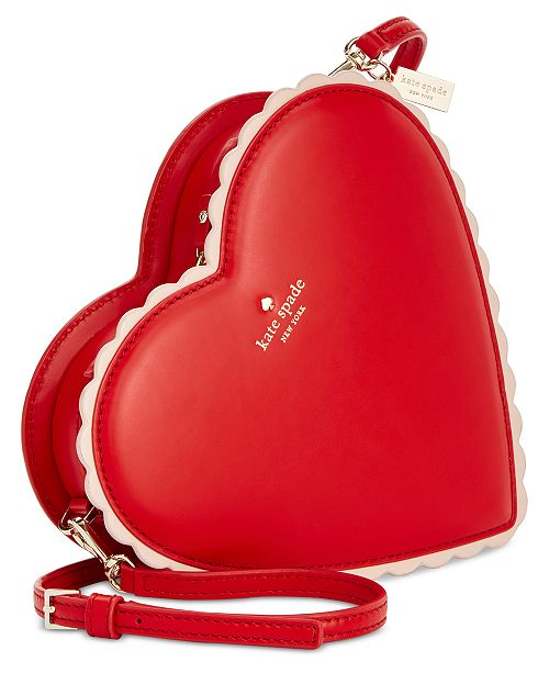 Kate Spade New York Yours Truly Chocolate Heart Mini Bag 1 Reviews Main Image