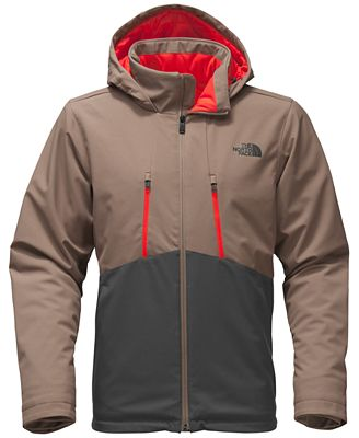The North Face Men's Hooded Soft Shell Rain Jacket - Coats ...
