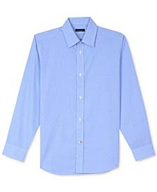 Cross Gingham Shirt, Little Boys