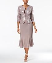 Tea Length Dresses  Shop Tea Length Dresses - Macy s 832990c9e