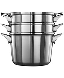 Calphalon Premier Space-Saving Stainless Steel 8-qt. Multi-Pot