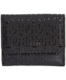 GUESS Kamryn Card & Coin Signature Wallet