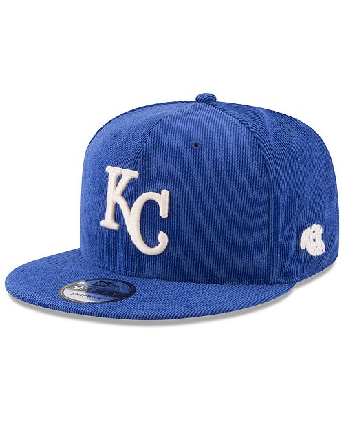 0d909f623c6 ... New Era Kansas City Royals All Cooperstown Corduroy 9FIFTY Snapback Cap  ...