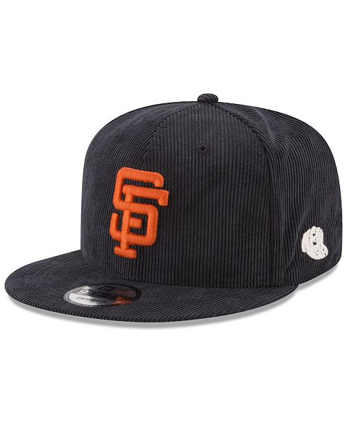 ... New Era San Francisco Giants All Cooperstown Corduroy 9FIFTY Snapback  Cap ... f37ead4b3