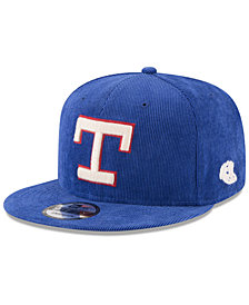 New Era Texas Rangers All Cooperstown Corduroy 9FIFTY Snapback Cap