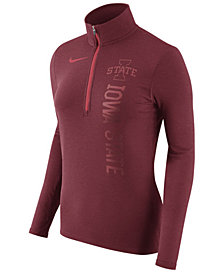 Nike Women's Iowa State Cyclones Stadium Element Quarter-Zip Pullover