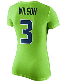 Women's Russell Wilson Seattle Seahawks Color Rush Player Pride T-Shirt
