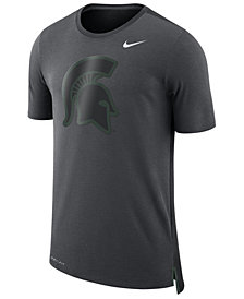Nike Men's Michigan State Spartans Meshback Travel T-Shirt