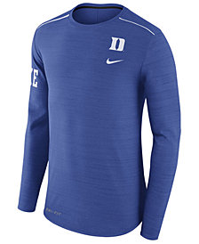 Nike Men's Duke Blue Devils Dri-Fit Breathe Long Sleeve T-Shirt