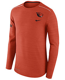 Nike Men's Oregon State Beavers Dri-Fit Breathe Long Sleeve T-Shirt