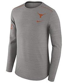 Nike Men's Texas Longhorns Dri-Fit Breathe Long Sleeve T-Shirt