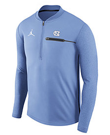 Nike Men's North Carolina Tar Heels Coaches Quarter-Zip Pullover