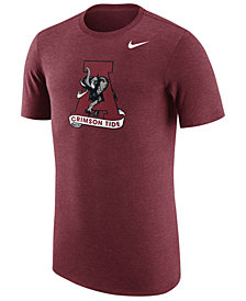 Nike Men's Alabama Crimson Tide Vault Logo Tri-Blend T-Shirt