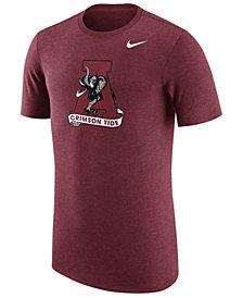 Nike Men's Alabama Crimson Tide Vault Logo Tri-Blend T-Shirt