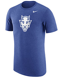 Nike Men's Duke Blue Devils Vault Logo Tri-Blend T-Shirt