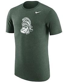 Nike Men's Michigan State Spartans Vault Logo Tri-Blend T-Shirt
