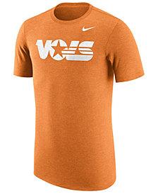 Nike Men's Tennessee Volunteers Vault Logo Tri-Blend T-Shirt