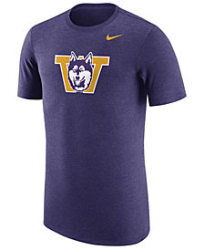 Nike Men's Washington Huskies Vault Logo Tri-Blend T-Shirt