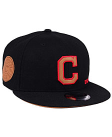 New Era Cleveland Indians X Wilson Side Hit 9FIFTY Snapback Cap