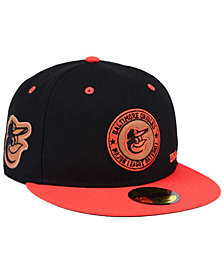 New Era Baltimore Orioles X Wilson Circle Patch 59FIFTY Fitted Cap