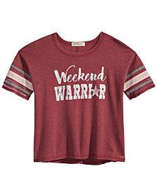 Kandy Kiss Weekend Warrior Graphic-Print T-Shirt, Big Girls