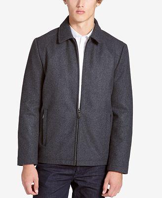 Calvin Klein Men's Shirt-Collar Jacket