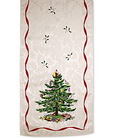 "Christmas Tree 108"" Table Runner"
