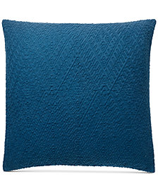 Lucky Brand Diamond Matelesse European Sham, Created for Macy's