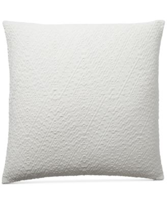 "CLOSEOUT! Diamond Matelasse 18"" Square Decorative Pillow, Created for Macy's"