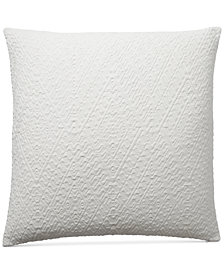 "CLOSEOUT! Lucky Brand Diamond Matelasse 18"" Square Decorative Pillow, Created for Macy's"