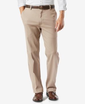 Men's Big & Tall Easy Classic Fit Khaki Stretch Pants