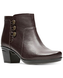 Clarks Women's Emslie Monet Booties
