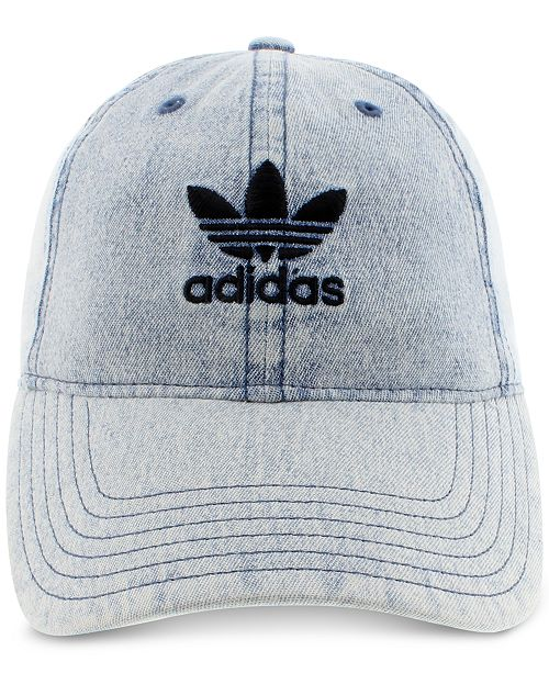 d570d7b5711b9 ... Hat  adidas adidas Women s Originals Cotton Relaxed Washed Strap-Back  ...