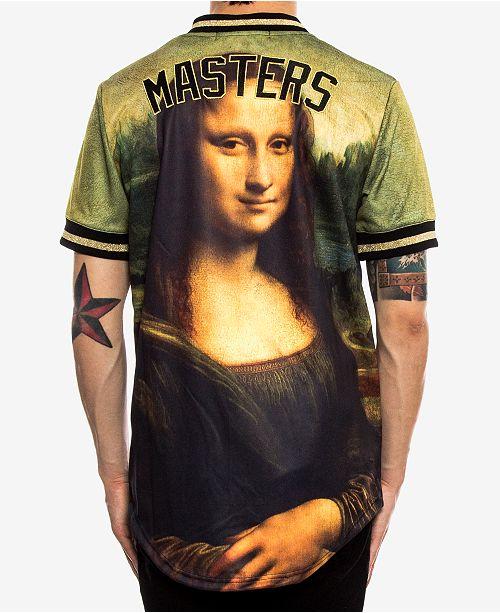 8a73f7cd Hudson NYC Men's Mona Lisa Baseball Jersey & Reviews - T-Shirts ...