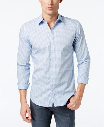 Calvin Klein Men's Infinite Cool Non-Iron Slim-Fit Shirt
