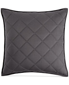 Hotel Collection Fretwork Quilted European Sham, Created for Macy's