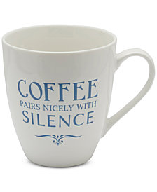 Pfaltzgraff Coffee Pairs Nicely With Silence Mug