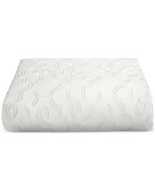 CLOSEOUT! Hotel Collection Inlay Cotton King Duvet Cover, Created for Macy's