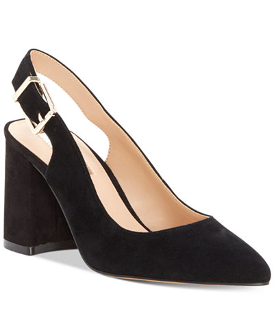 INC International Concepts Women's Taloo Block-Heel Slingback Pumps, Created for Macy's
