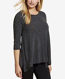 Three-Quarter-Sleeve Nursing Top